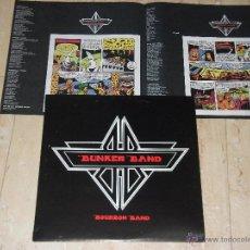 Discos de vinilo: BUNKER BAND-BOURBON BAND- KOMA-DROGAS-BARRICADA-1994-COMPLETO INSERT TIPO COMIC-PRIMERA EDICION-. Lote 178997100