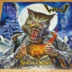 Discos de vinilo: WILD LP SPANISH HEAVY 2011 NEW !-MAGO DE OZ-SARATOGA-WARCRY-ATLAS-IRON MAIDEN-SAUROM-AVALANCH. Lote 48760501