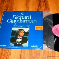 Discos de vinilo: RICHARD CLAYDERMAN REVERIES Nº 2 HISPAVOX DELPHINE LP VINILO SEMINUEVO 1982 VS. Lote 44548958