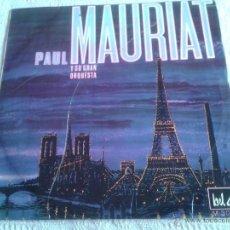 Discos de vinilo: PAUL MAURIAT Y SU GRAN ORQUESTA PARIS LA NUIT DISCO DE VINILO LP . Lote 44555388