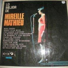 Discos de vinilo: MAGNIFICO LP DE - MIREILLE -. MATHIEU -. Lote 44563088