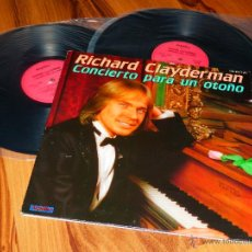Discos de vinilo: RICHARD CLAYDERMAN CONCIERTO PARA UN OTOÑO DOBLE LP VINILO DESPLEGABLE HISPAVOX 1981 V1. Lote 44566519