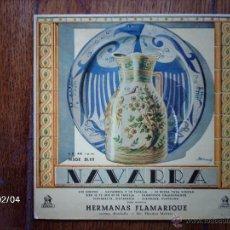 Discos de vinilo: HERMANAS FLAMARIQUE - LOS CHOPOS + 6. Lote 44575074