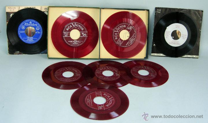 Discos de vinilo: Beethoven Sinfonía nº 3 Heroica Toscanini José Carreras Amapola Fragmentos Zarzuelas 45 rpm vinilo - Foto 2 - 44583798