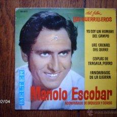 Discos de vinilo: MANOLO ESCOBAR - YO SOY UN HOMBRE DEL CAMPO + 3. Lote 44619058
