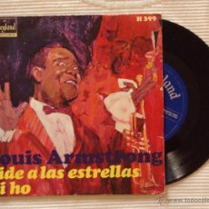Discos de vinilo: LOUIS ARMSTRONG, PIDE A LAS ESTRELLAS (HISPAVOX 1968) SINGLE ESPAÑA - WHEN YOU WISH UPON A STAR. Lote 44619629