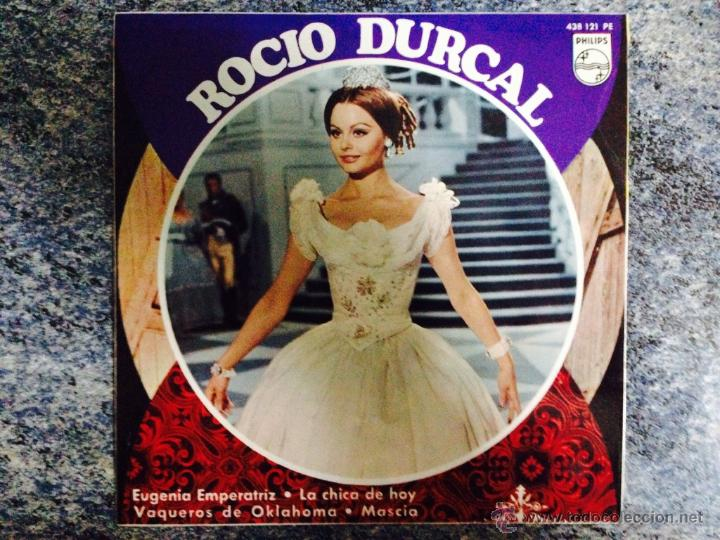 EP.ROCIO DÚRCAL.EUGENIA EMPERATRIZ ETC...PHILIPS 1967. (Música - Discos - Singles Vinilo - Solistas Españoles de los 50 y 60)