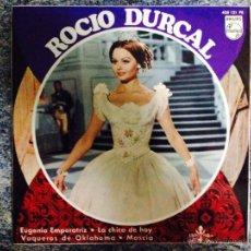 Discos de vinilo: EP.ROCIO DÚRCAL.EUGENIA EMPERATRIZ ETC...PHILIPS 1967.. Lote 44620884