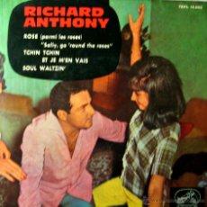 Discos de vinilo: RICHARD ANTHONY. ROSE. LA VOZ DE SU AMO 1963. Lote 44629579
