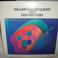 Discos de vinilo: LP DE THE GARY BURTON QUINTET CON EBERHARD WEBER, RING (AÑO 1974-1979), PAT METHENY A LA GUITARRA. Lote 44637678