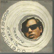 Discos de vinilo: JOSÉ FELICIANO - DESTINY / SUSIE-Q - SINGLE RCA 1970. Lote 44643139
