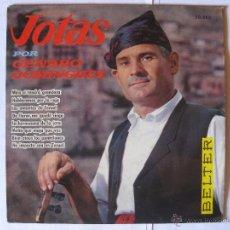 Discos de vinilo: GENARO DOMINGUEZ - JOTAS - AÑO 1961. Lote 44645567