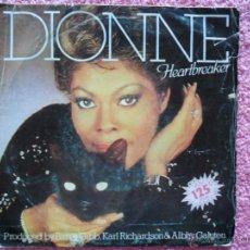 Discos de vinilo: DIONNE WARWICK 1982 ARISTA 104704 HEARTBREAKER DISCO VINILO. Lote 44647287