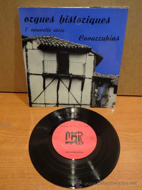 FRANCIS CHAPELET. ORGUES HISTORIQUES. COVARRUBIAS. EP - GATEFOLD / FRANCE - 1964. LUJO. ****/**** (Música - Discos de Vinilo - EPs - Otros estilos)