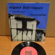Discos de vinilo: FRANCIS CHAPELET. ORGUES HISTORIQUES. COVARRUBIAS. EP - GATEFOLD / FRANCE - 1964. LUJO. ****/****. Lote 44653005