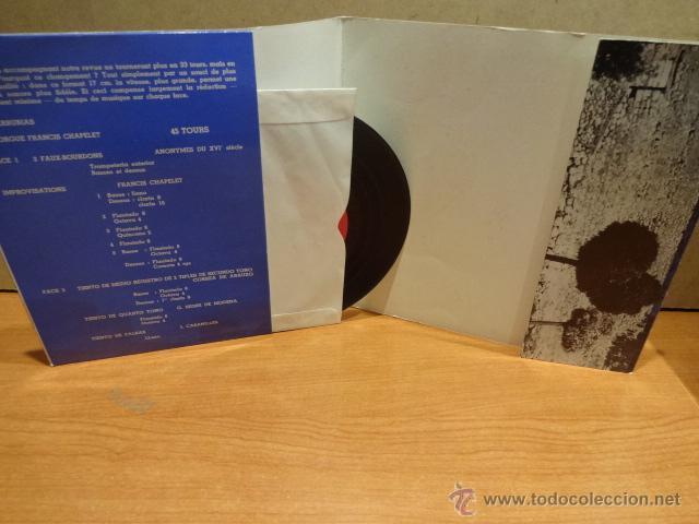Discos de vinilo: FRANCIS CHAPELET. ORGUES HISTORIQUES. COVARRUBIAS. EP - GATEFOLD / FRANCE - 1964. LUJO. ****/**** - Foto 2 - 44653005