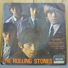 Discos de vinilo: THE ROLLING STONES - THE LAST TIME = LA ÚLTIMA VEZ - EP DECCA - SDGE 80.935 - ESPAÑA 1965. Lote 44654525