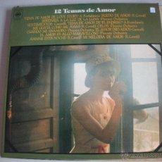 Discos de vinilo: MAGNIFICO LP DE - LOS MEJORES 12 TEMAS DE AMOR -. Lote 44657904
