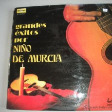 Discos de vinilo: MAGNIFICO LP DE - GRANDES - EXITOS - DE - NIÑO - DE - MURCIA -. Lote 44657931