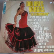 Discos de vinilo: MAGNIFICO LP DE - D O L O R E S - V A R G A S -. Lote 44658259