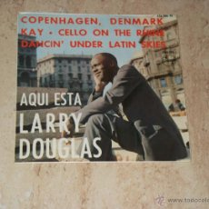 Discos de vinilo: LARRY DOUGLAS - COPENHAGEN DENMARK + 3 EDICION ESPAÑOLA-1964-. Lote 44659624