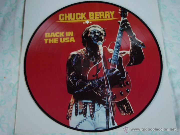 CHUCK BERRY - BACK IN THE USA, DENMARK 1983 TIME WIND (Música - Discos - LP Vinilo - Rock & Roll)