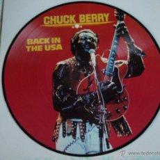 Discos de vinilo: CHUCK BERRY - BACK IN THE USA, DENMARK 1983 TIME WIND. Lote 44660704