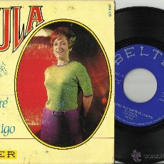 Discos de vinilo: PAULA SINGLE TE ESPERARE ESPAÑA 1968. Lote 44661722