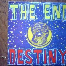 Discos de vinilo: THE END - DESTINY + WEIRDO. Lote 44669746