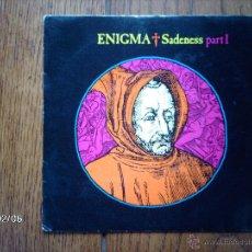 Discos de vinilo: ENIGMA - SADENESS PART 1 (RADIO EDIT + MEDITATION MIX ) . Lote 44669777