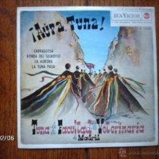 Discos de vinilo: TUNA DE LA FACULTAD DE VETERINARIA DE MADRID - ¡ AUPA TUNA ! - CARRASCOSA + 3. Lote 44671866