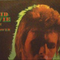 Discos de vinilo: LP-DAVID BOWIE EL REY DEL GAY POWER-DERAM 15044/5-DOBLE LP-SPAIN 1073-GATEFOLD. Lote 44672336