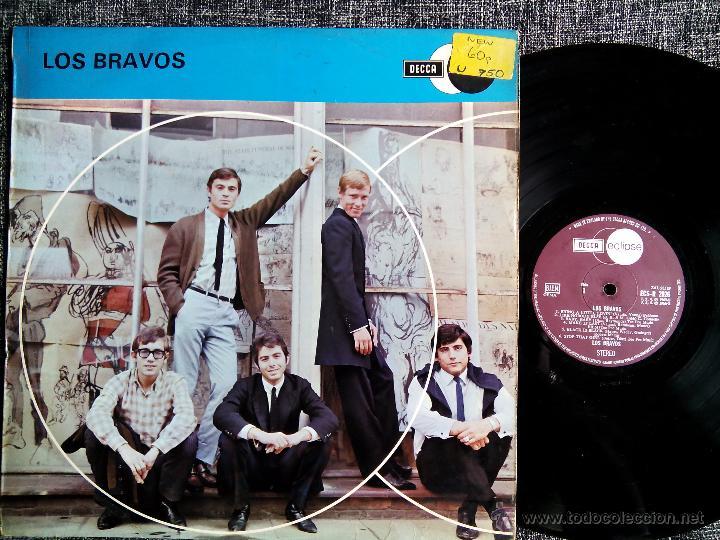 LOS BRAVOS. LP DECCA ECLIPSE ECS-R 2026. ENGLAND 1970. MIKE KENNEDY. COMPILATION. (Música - Discos - LP Vinilo - Grupos Españoles 50 y 60)