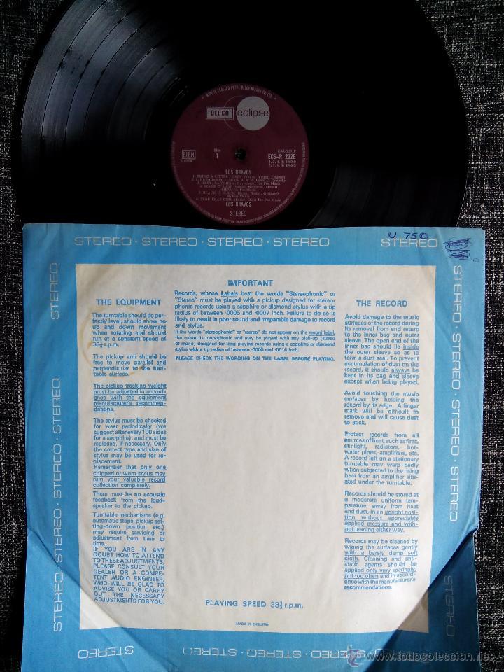 Discos de vinilo: LOS BRAVOS. LP DECCA ECLIPSE ECS-R 2026. ENGLAND 1970. MIKE KENNEDY. COMPILATION. - Foto 2 - 44675014
