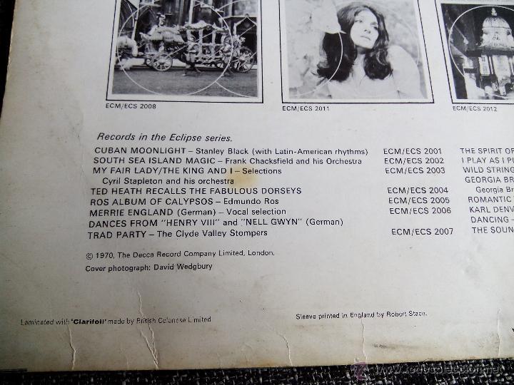 Discos de vinilo: LOS BRAVOS. LP DECCA ECLIPSE ECS-R 2026. ENGLAND 1970. MIKE KENNEDY. COMPILATION. - Foto 5 - 44675014