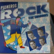 Discos de vinilo: LP PIONEROS DEL ROCK THE SHADOWS. Lote 44683548