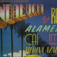 Discos de vinilo: MEDINA AZAHARA, CAI, ALAMEDA LP SELLO EPIC PROMOCIONAL . Lote 44690765