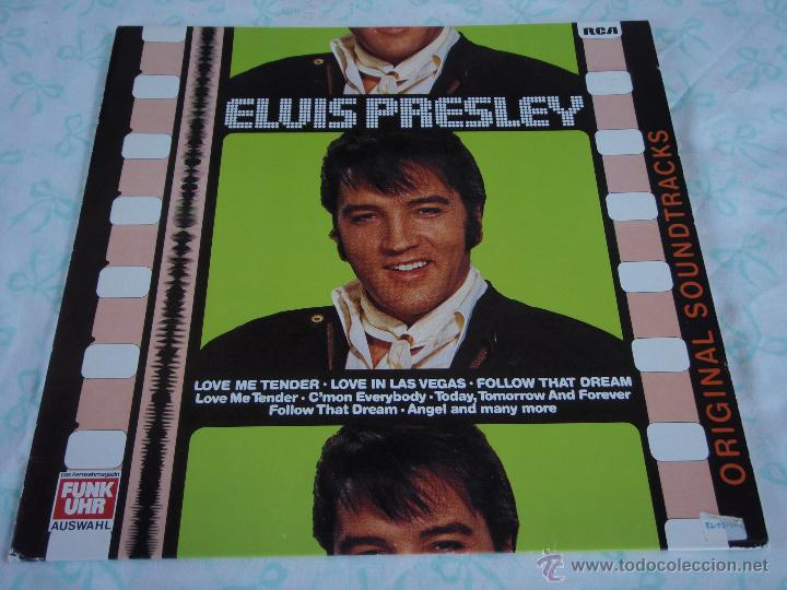 ELVIS PRESLEY - LOVE ME TENDER / LOVE IN LAS VEGAS / FOLLOW THAT DREAM, GERMANY 1979 LP RCA (Música - Discos - LP Vinilo - Rock & Roll)