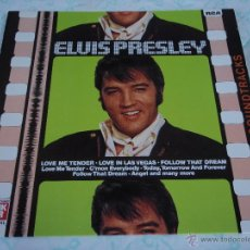 Discos de vinilo: ELVIS PRESLEY - LOVE ME TENDER / LOVE IN LAS VEGAS / FOLLOW THAT DREAM, GERMANY 1979 LP RCA. Lote 44691571