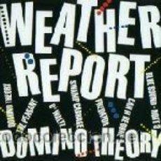 Discos de vinilo: WEATHER REPORT - DOMINO THEORY. Lote 44693946