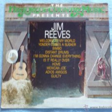 Discos de vinilo: JIM REEVES,THE HISTORY OF COUNTRY MUSIC. Lote 44695208