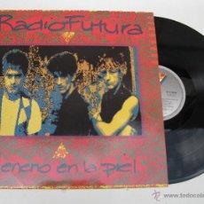 Discos de vinilo: LP - RADIO FUTURA - VENENO EN LA PIEL - ARIOLA - AÑO 1990.. Lote 44701127