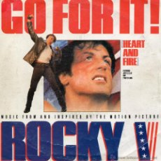Discos de vinilo: JOEY B. ELLIS AND TYNETTA HARE, SG, GO FOR IT ! + 1, AÑO 1990 MADE IN ITALY. Lote 44701854