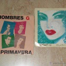 Discos de vinilo: HOMBRES G- LOTE DOS SINGLES PROMOCIONALES. Lote 44702103