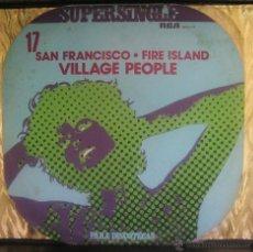 Discos de vinilo: VILLAGE PEOPLE - SAN FRNCISCO / FIRE ISLAND MAXI. Lote 44705754