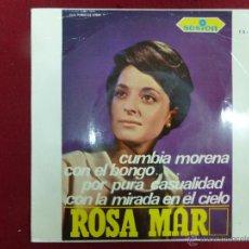 Discos de vinilo: ROSA MAR - CUMBIA MORENA - EP DISCOS SESION. Lote 44706122
