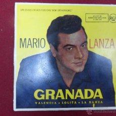 Discos de vinilo: MARIO LANZA GRANADA ORQUESTA RAY SINATRA PIANO GIMPEL 1962 RCA-VICTOR. Lote 44706333