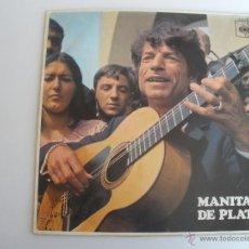 Discos de vinilo: MANITAS DE PLATA-MANITAS DE PLATA SPAIN 1968. Lote 44708145