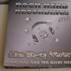 Discos de vinilo: LISA PIN-UP FEVER. Lote 44711161