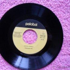 Discos de vinilo: CAPUTXETA VERMELLA 1968 PALOBAL S-26 SOLO DISCO. Lote 44713019